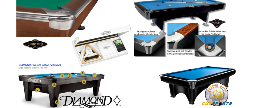 Billiardtables & Acc