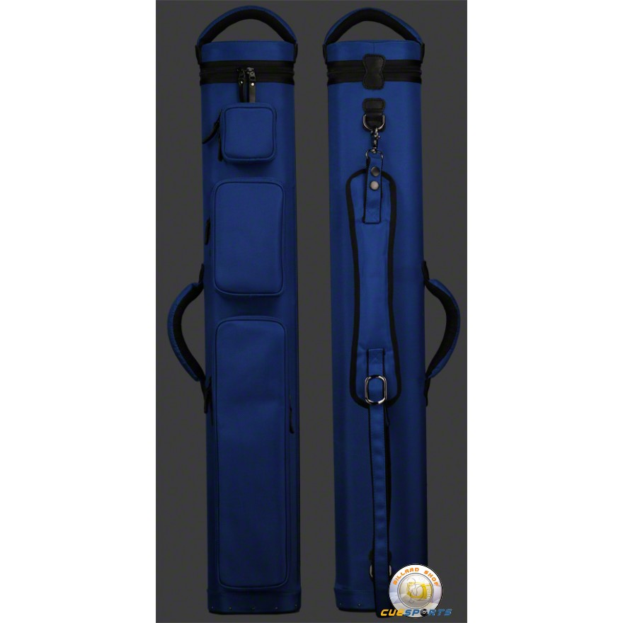 JB Ultimate Rugged Blue 3x4 Pool Cue Case