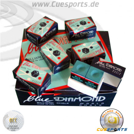 Blue Diamond Billardkreide 2er Pack