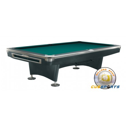 Pooltable Pooltable Brunswick Gold Crown V BLACK Feet - Brunswick 9 foot pool table