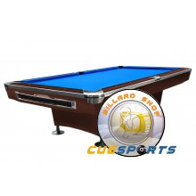 Pooltable Galaxy, 9 ft. brown