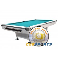 Pooltable Galaxy, 9 ft. white