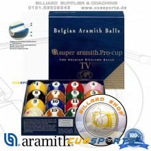 Billiard Balls - Aramith SUPER Pro TV
