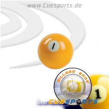 Billiard balls - 1 to 15
