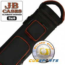 JB Ultimate Rugged schwarz-kupfer 3x6 Queue Köcher