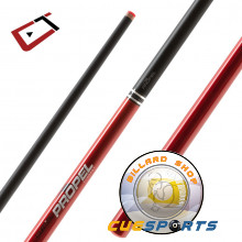 Cuetec Cynergy Galaxy RED Propel Carbon Fiber Jump Cue