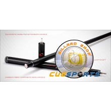 Cuetec Cynergy Galaxy Grey Propel Carbon Fiber Jump Cue