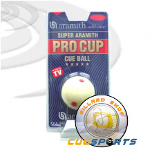 Billiard ball - Pro Cup Cueball
