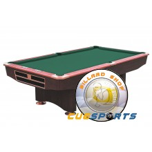Pooltable Competition, 9 ft. brown